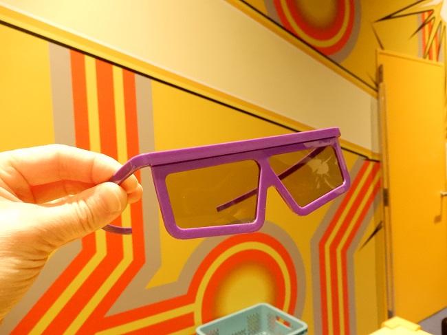 ガンガンバトラーズ3D眼鏡